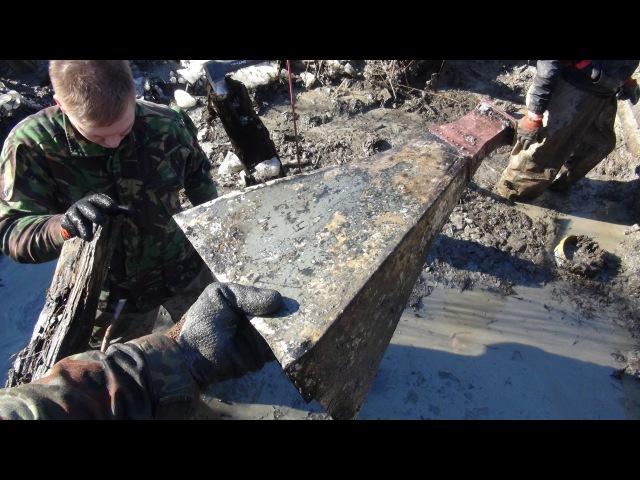 Раскопки немецкого Блиндажа № 10 HD \ Excavations of German dugout № 10