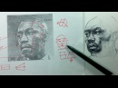 Ballpoint Pen Portrait Drawing Demo Tips