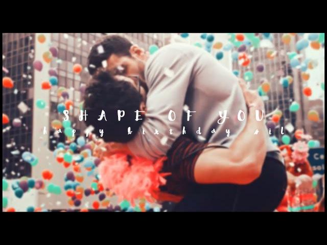 ► LGTB | Shape Of You (Happy Birthday Silvia!)