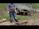 Раскопка стволов окаменелого дерева на реке Ларьковка город Краснотурьинск