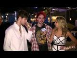 LUKE HEMMINGS & MICHAEL CLIFFORD INTERVIEW AT AMAS 2015