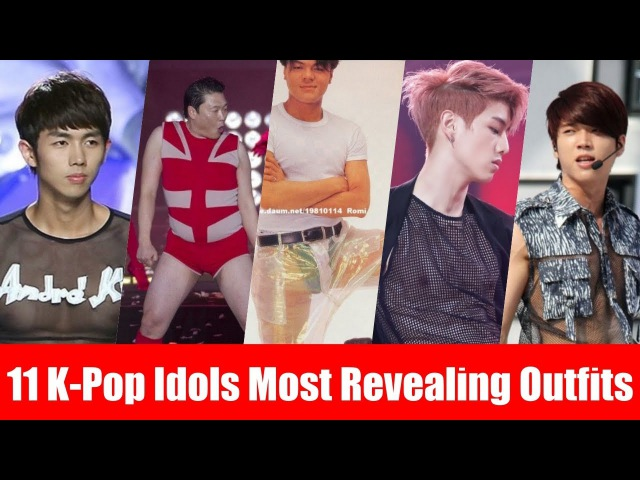 11 K-Pop Idols Most Revealing Outfits All Time Male Edition