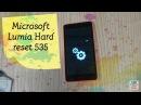 Microsoft Lumia 535 RM 1090 HARD RESET не загружается или как снять блокировку форматирование