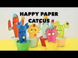 How to Make Paper Cactus Craft With Template