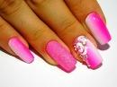 ТОП удивительный дизайн ногтей Маникюр гель лаком Простые розочки