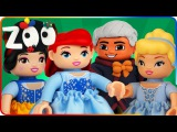 ♥ LEGO ZOO TROUBLE Duplo Ariel Cinderella Snow White (Home of Disney Princess)