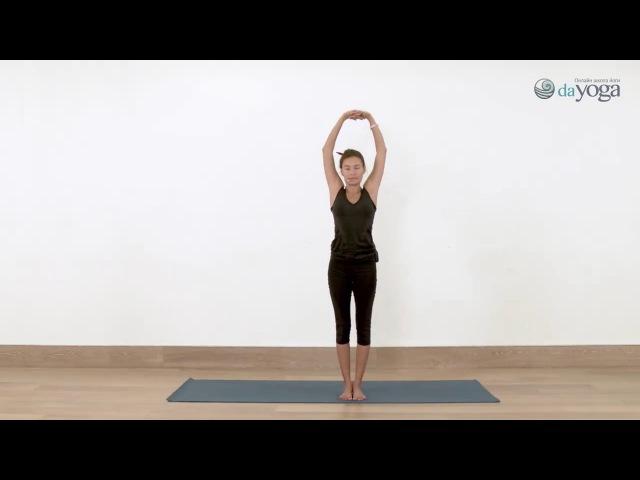 Урок 4 Силовая практика Станем сильнее Юлия Сафронова онлайн йога видео