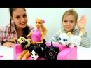 Видео для девочек. Барби дрессирует собак! Игры Барби. Видео про кукол детиирод ...