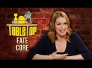 TableTop Wil Wheaton Plays FATE CORE w Felicia Day John Rogers Ryan Macklin