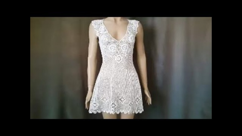 How to Crochet a Beach Cover Up Crochet Beach Top Tutorial Part 1