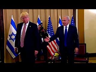 Трамп забыл пожать руку Нетаньяху во время визита в Израиль