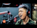 Kris Lawrence covers Versace on the Floor Bruno Mars LIVE on Wish 107.5 Bus