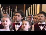 Концерт большого детского хора. Евгений Крылатов - Хоть глазочком заглянуть бы
