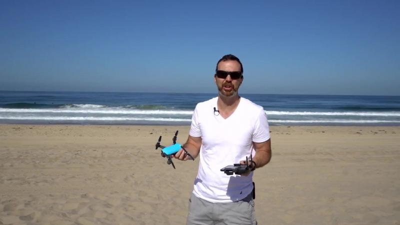 DJI Spark w Remote Controller — Sport Mode is Ludicrous! [4K]