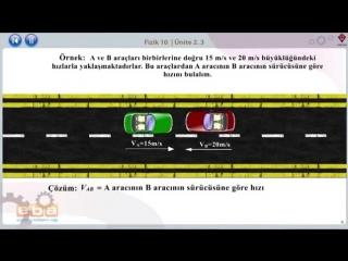 25-Newtonun 1. Hareket Yasası - FİZİK DERSLERİ - YGS - LYS