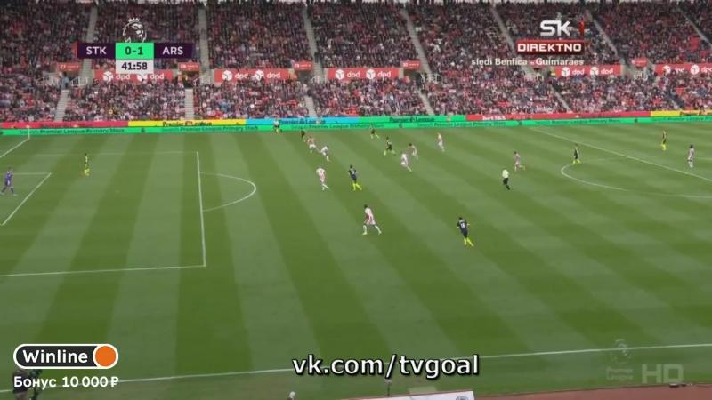 Сток Сити 0 1 Арсенал Жиру