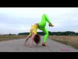 Nadya C Green Leggings 02
