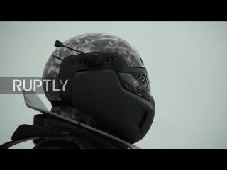 Прототип боевого костюма будущего представили в Москве.