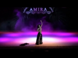Sexy vintage oriental belly dance by Amira Abdi 8509