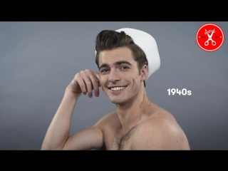 Как менялась мужская прическа за последний век?