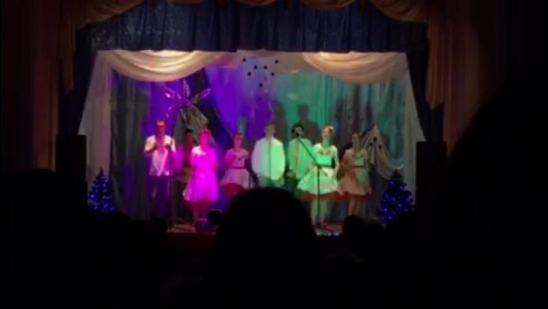 Украінський,Новий Рік 2017