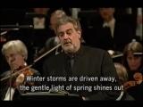 Placido Domingo sings Richard Wagner Die Walk