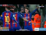 Barcelona - Real Sociedad 5-2, Denis Suarez (1-0, 17), 26.01.2017. HD