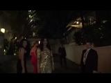 Priyanka Chopra, Elle Fanning, Billy Bob Thornton, And Diego Luna Attending Golden Globes Party