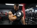 Regan Grimes Trains Biceps - 16 Days Out from 2017 Chicago Pro