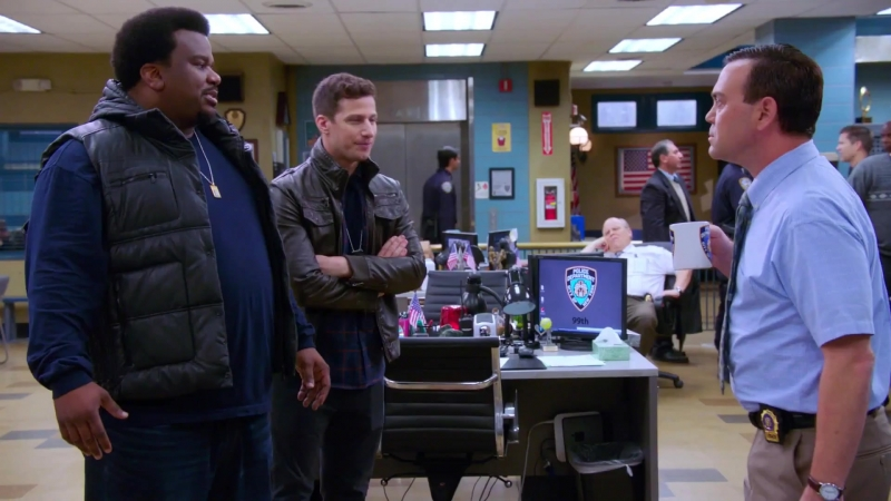 "Бруклин 9-9 ¦ Brooklyn Nine-Nine 4x11 Promo ""The Fugitive"" (HD)"