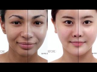 Отбеливающая маска, эффект на лицо😍