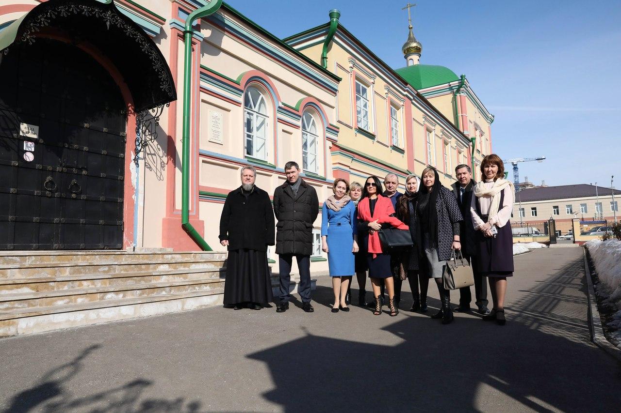 Духосошественский храм посетила Татьяна Алтушкина