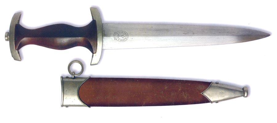 Германия. Нож Штурмовиков SA. Форменный кинжал образца 1933 года военизированных формирований НСДАП.