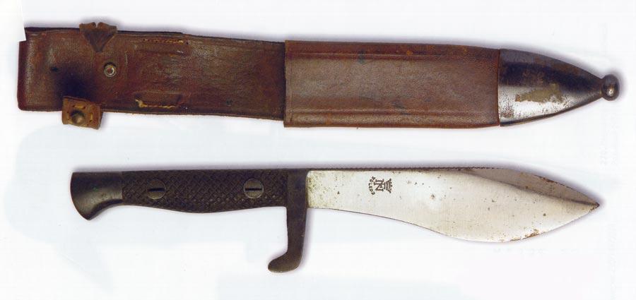 Испания. Штатный нож горных частей и COE – Cuerpo Operaciones Especiales периода 2 мировой войны.