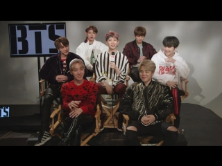 `INTERVIEW` iHeartRadio video of their Q&A with BTS.