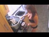erotic! Раздевание сексуальная няня скрытая камера   10Youtube com