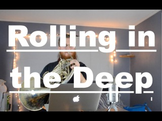 📯Adele: Rolling in the Deep - French horn [Loop cover]