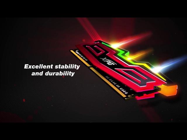 XPG SPECTRIX D40 - Entrancing RGB meets enchanting speed