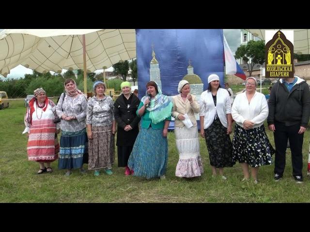 День семьи, любви и верности с о.Фотием в православном лагере