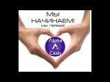 Alpha Cash  1 ый день  Мой доход составил