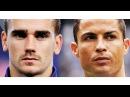 Antoine Griezmann 🆚 Cristiano Ronaldo - Mad Skills Goals Show - 2016/17 | HD