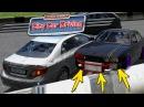 BMW E34 БОЕВАЯ КЛАССИКА ПОПАЛА В ЖЕСТКУЮ АВАРИЮ В CITY CAR DRIVING
