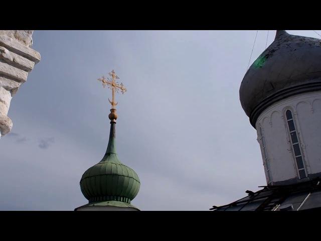 Колокольный звон. Свято-Троицкий Данилов мужской монастырь в Переславле-Залесском.