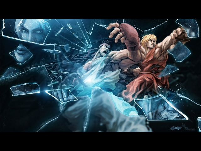 Ultra Street Fighter 4 All Characters Endings Cutscenes Japanese Exhibition Full HD