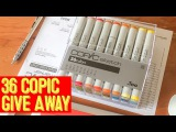 DOODLE ART! - HUGE COPIC GIVE AWAY - FREE COPIC SKETCH PENS [CLOSED]