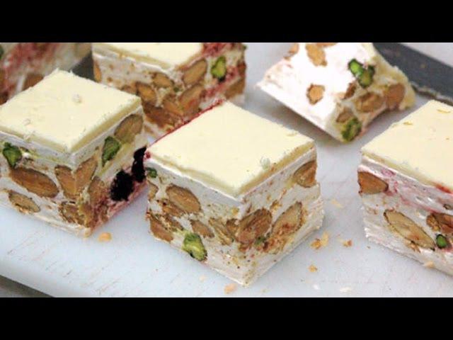 Soft nougat (torrone morbido) - Italian Cuisine