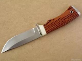 Профессионал поэтапно показывает как изготовить авторский охотничий нож