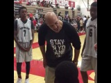 LaVar Ball's halftime speech didn't help as his AAU team lost by 52 points