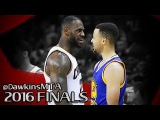 Stephen Curry vs LeBron James SUPERSTARS Duel in 2016 Finals G4 - LBJ With 25, 9 Ast, Steph With 38!