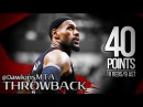 LeBron James Full Highlights in 2012 ECSF Game 4 at Pacers - NASTY 40 Pts, 18 Rebs, 9 Ast, 2 Blks!